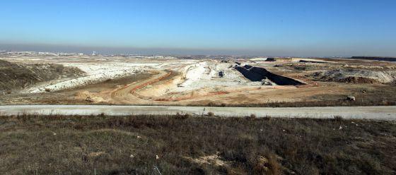 Panorámica del desarrollo urbanístico Los Berrocales, a finales de 2010.