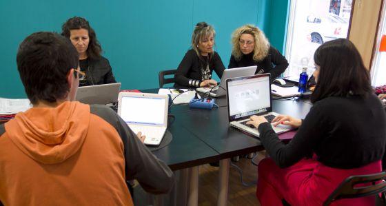 Un espacio de 'coworking' en Alicante