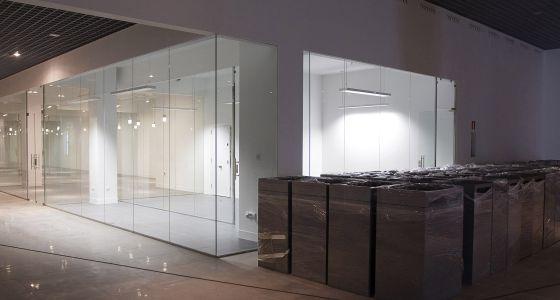 Una de las salas del museo de las gemas de Málaga
