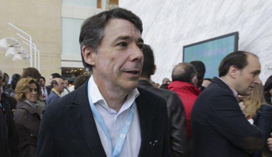 Ignacio González en el congreso regional del PP.