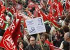 Miles de manifestantes se echan a la calle contra los recortes de Rajoy