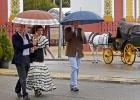Una Feria de Abril marcada por la crisis económica y la lluvia
