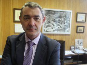 Enrique Amezua, director de la Escuela de Ingeniería de Bilbao.
