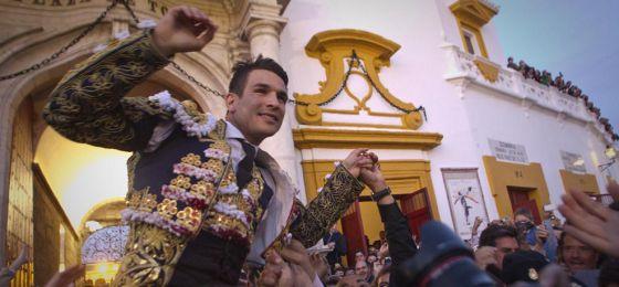 Manzanares sale por la Puerta del Príncipe el 20 de abril.