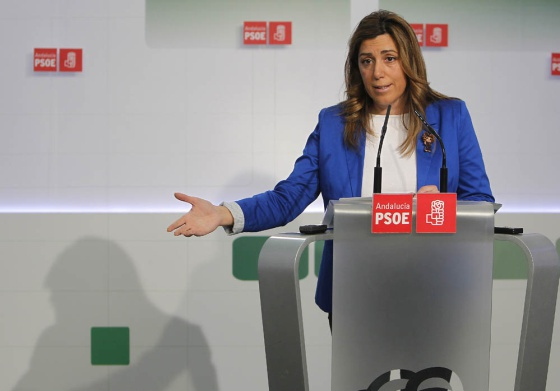 Susana Díaz, secretaria de Organización del PSOE andaluz.