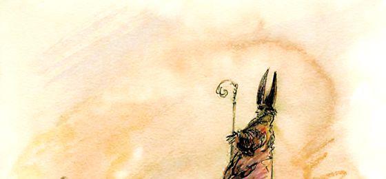 Obra sin título de la serie dedicada a los obispos. / RAFAEL PÉREZ ESTRADA