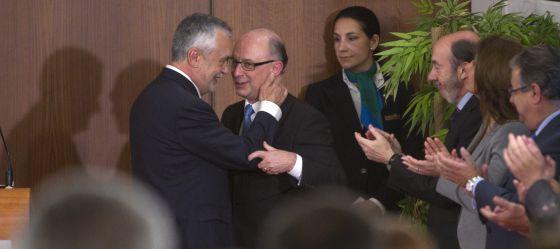 Griñán y Montoro, en un un momento del acto.