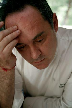 El chef Ferran Adrià.