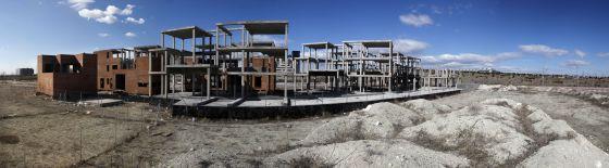 Obra sin acabar del Programa de Actuación Urbanística de Vallecas.