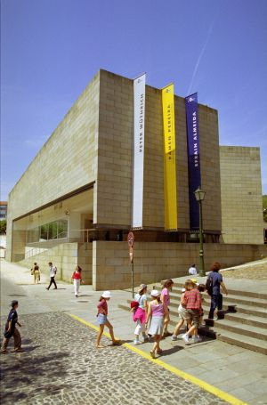 Fachada del Centro Galego de Arte Contemporánea.
