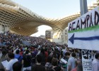 El Gobierno prohíbe la concentración del 15-M en Sevilla