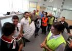 La Policía de Benidorm 'toma' el Consistorio contra los recortes