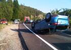Cuatro heridos en una colisión múltiple en Alzira