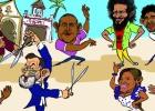 Las 'Sevillanas indignadas' toman las plazas y las ferias