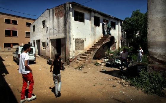El barrio de Sant Josep Oriol de Reus, donde 20 personas viven en condiciones insalubres.