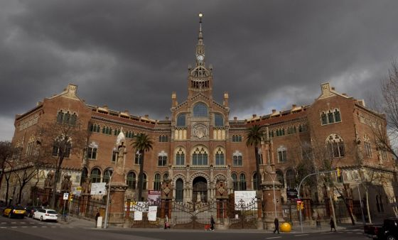 Fachada del histórico edificio de Sant Pau.