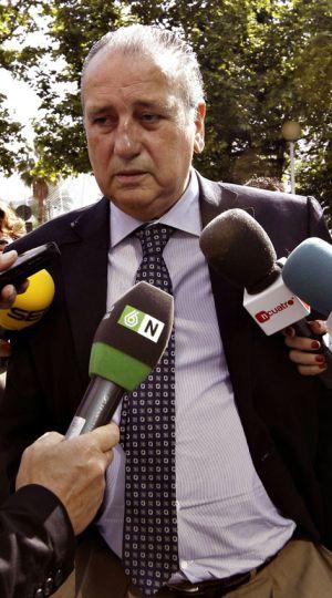 Fernando Roig, presidente del Villareal CF, en la Ciudad de la Justicia.