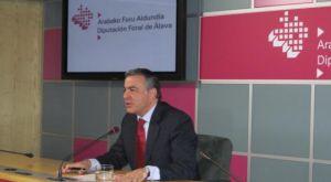 De Andrés, en la rueda de prensa tras la reunión del Consejo de Diputados