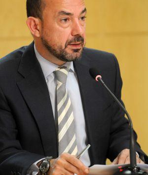 Miguel Ángel Villanueva, durante la rueda de prensa tras la Junta de Gobierno.