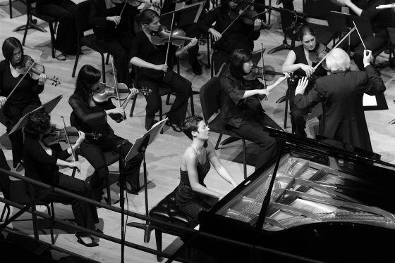 La pianista alicantina, Marta Espinós.