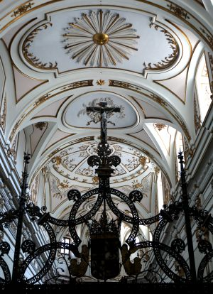Detalle del monasterio.