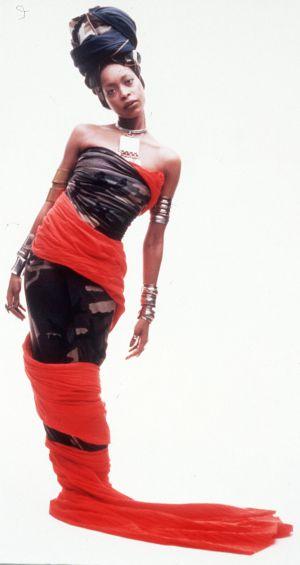 La cantante Erikah Badu.