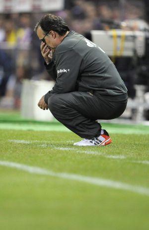 Marcelo Bielsa, en la final de Copa del pasado viernes.