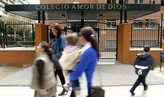 El colegio condenado en una fotografía de 2011.