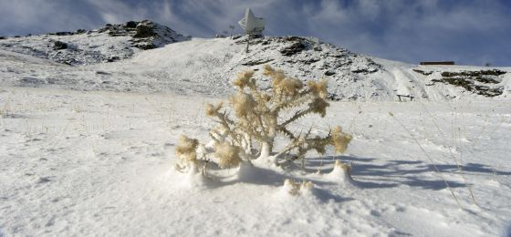 Instalaciones de esquí de Sierra Nevada.