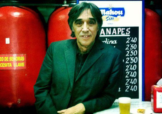 Agustín Díaz Yanes, en el barrio de Chamberí.