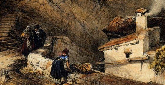 Detalle de la portada del libro 'Viaje a la Andalucía inexplorada'.