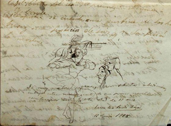 Manuscritos de Emilia Pardo Bazán