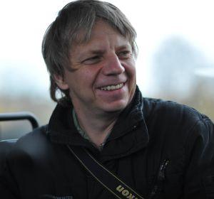 El director alemán Andreas Dresen durante el rodaje de 'Stopped on Track', que se estrena mañana en el festival.