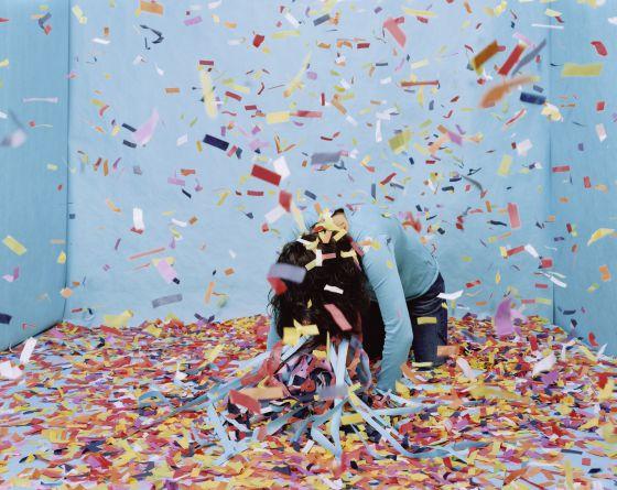 Sin título (Habitación turquesa #5), 2007. Cortesía de la artista; Silverlens Gallery, Manila; François Ghebaly Gallery, Los Ángeles© Gina Osterloh