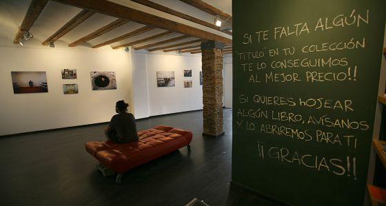Una imatge de la galeria Doctor Nopo, a València.