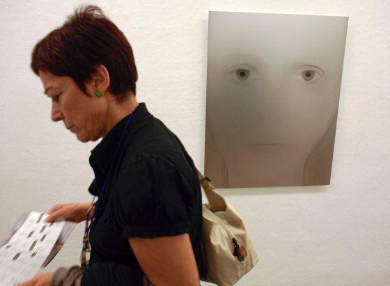 Una obra de la exposición de la Galería Canem de Castellón.