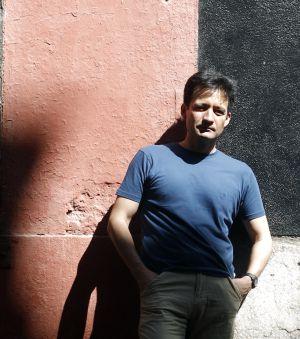 El poeta peruano Martín Rodríguez-Gaona.