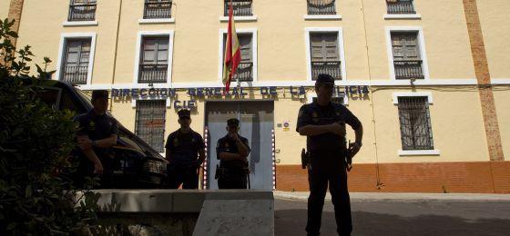 Fachada del CIE de Málaga.