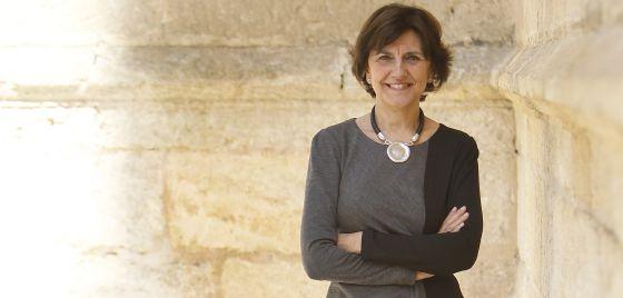 La presidenta del Consejo Audiovisual de Andalucía, Emelina Fernández Soriano.