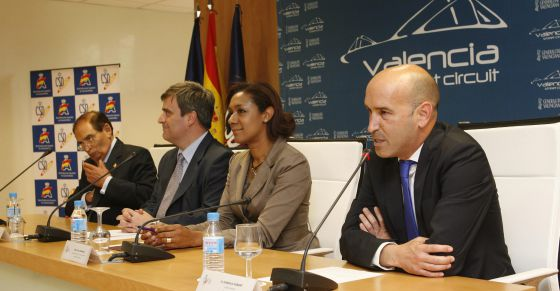 Carlos Gracia, Miguel Cardenal, Lola Johnson y Gonzalo Gobert.