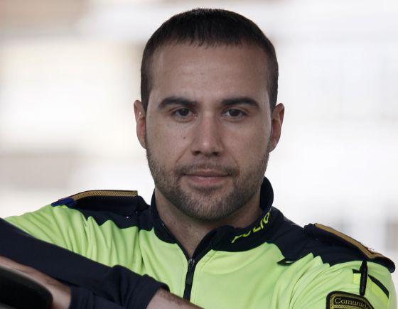 El jefe de la Policía Municipal de Alcorcón, Sergio Ruiz Platero.