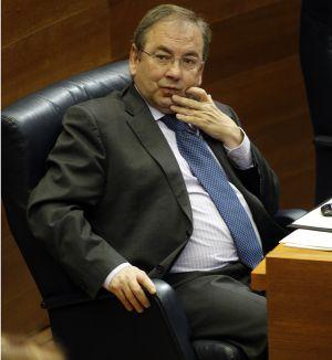 El consejero de Sanidad, Luis Rosado.