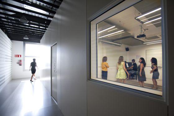 Las nuevas instalaciones del Taller de Músics en Can Fabra