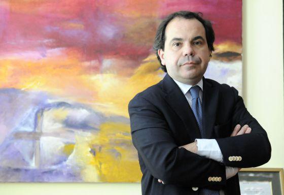 Pascal Gómez, el pasado viernes en Vitoria.