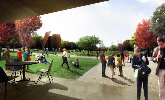 Simulacion del futur parc lineal.