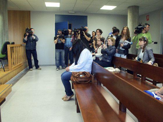 La cuidadora condenada, durante el juicio