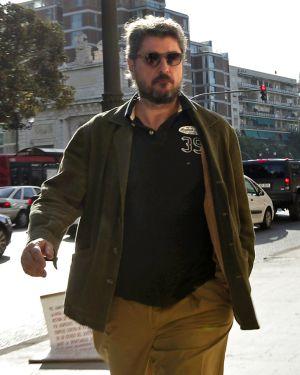 Cristóbal Páez, a su llegada al tribunal.