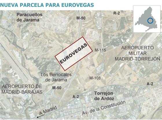 Paracuellos y Torrejón ofrecen 10 millones de metros cuadrados