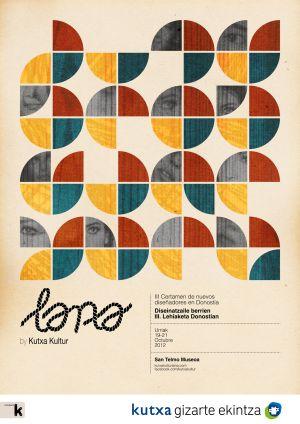 Cartel del evento Lana by Kutxa Kultur.
