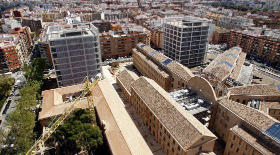El complejo 9 d'Octubre concentrará buena parte de los servicios administrativos de la Generalitat.